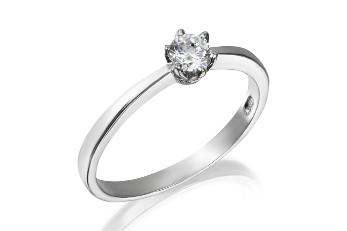 4mm Classic Solitaire Ring