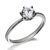 6mm Classic Solitaire Ring