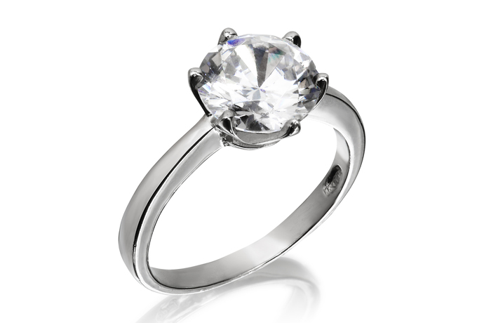 9mm Classic Solitaire Ring