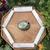 Pyrite manifestation & protection palm stone