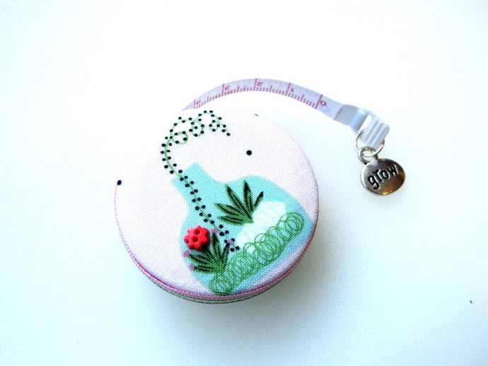 Tape Measure Glass terrarium Small Retractable Measuring Tape