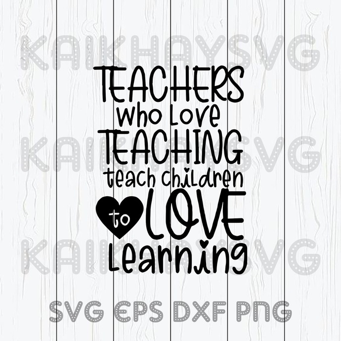 Teacher Who Love SVG, Teaching Is My Jam SVG, Teacher Life SVG, Teach Love