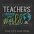 Teacher The Word SVG, Teacher Who Love SVG, Teacher Life SVG, Teach Love Inspire