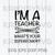 I'm A Teacher What's Your Suerpower SVG, Teaching Is My Super Power SVG, Teacher