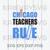 Chicago Teachers Rule SVG, Livin That Teacher Life SVG, Teacher Life SVG, Teach