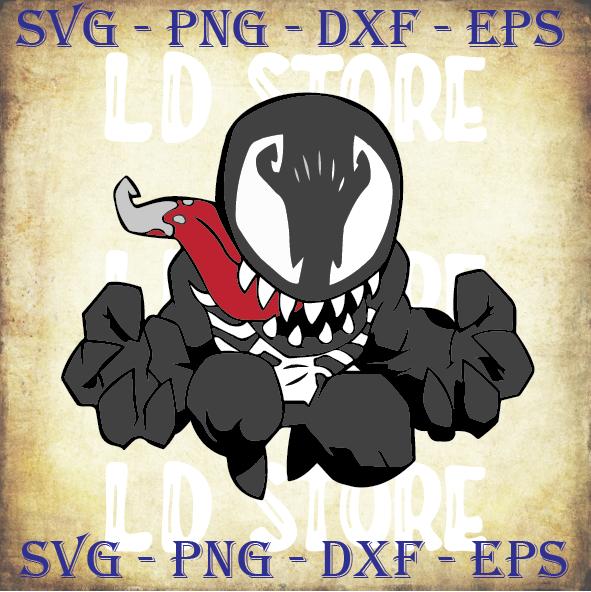 Venom (2) Svg, Carnage Svg, Miles Morales svg, Into the Spider-Verse svg,