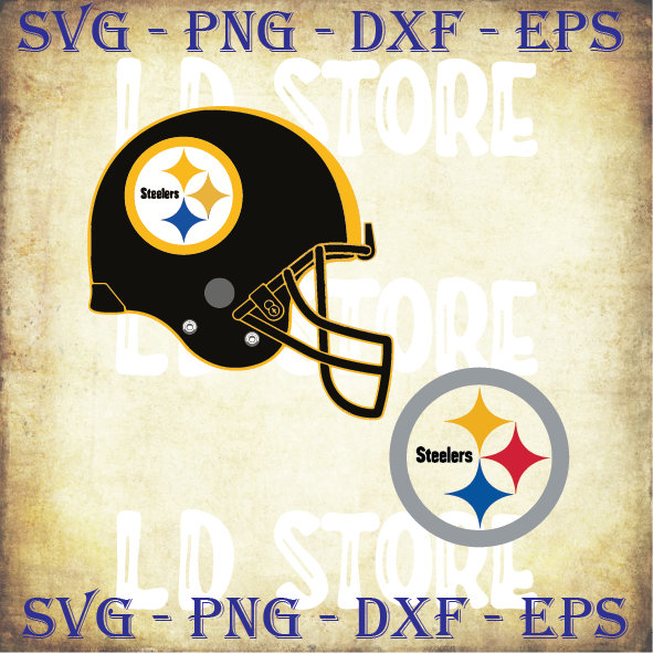 Pittsburgh Steelers NFL Football Helmet Svg, Pittsburgh Steelers Svg, Steelers