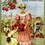 Fresh, Ripe Tomatoes Digital Collage Greeting Card2778
