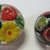 2pc Cemented Glass Buttons Quantity 2