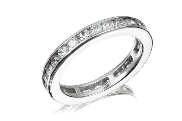 Channel Full Circle Eternity Ring