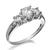 5mm 3 Stone Ring