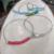 Handmade Beaded Wire Bangle