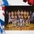 Los Angeles Lakers Kareem Abdul-Jabbar team signed photo