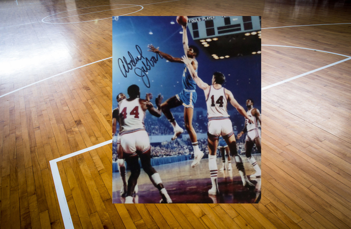 Kareem Abdul-Jabbar UCLA Bruins 8 x 10 signed photo $