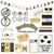 Graduation Printable Party Kit (Black)