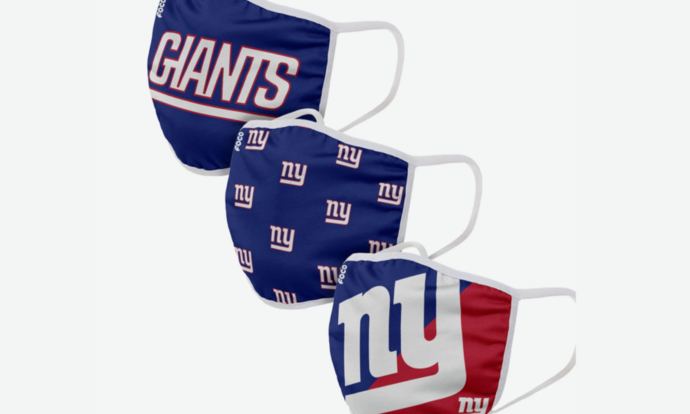 New York Giants face mask, NFL face masks are the perfect COVID-19 prevention