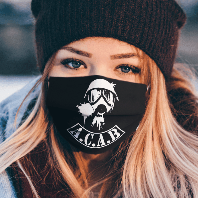 ACAB All Cops Are Bastards face mask
