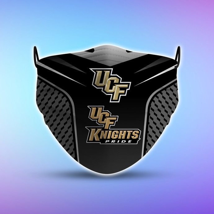 UCF Knights Pride Style 5 Face Mask, Adult Face Mask, Sport Face Mask, Reusable