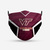 Virginia Tech Hokies Style 4 Face Mask, Adult Face Mask, Sport Face Mask,