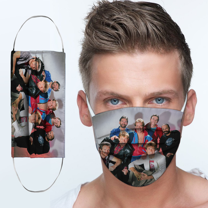 Chicago Rock band Cloth Face Mask