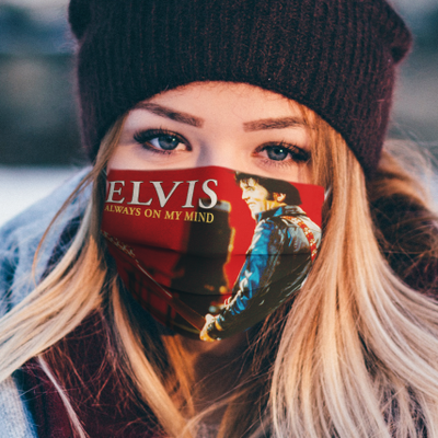 Elvis Presley Always on my mind cloth mask