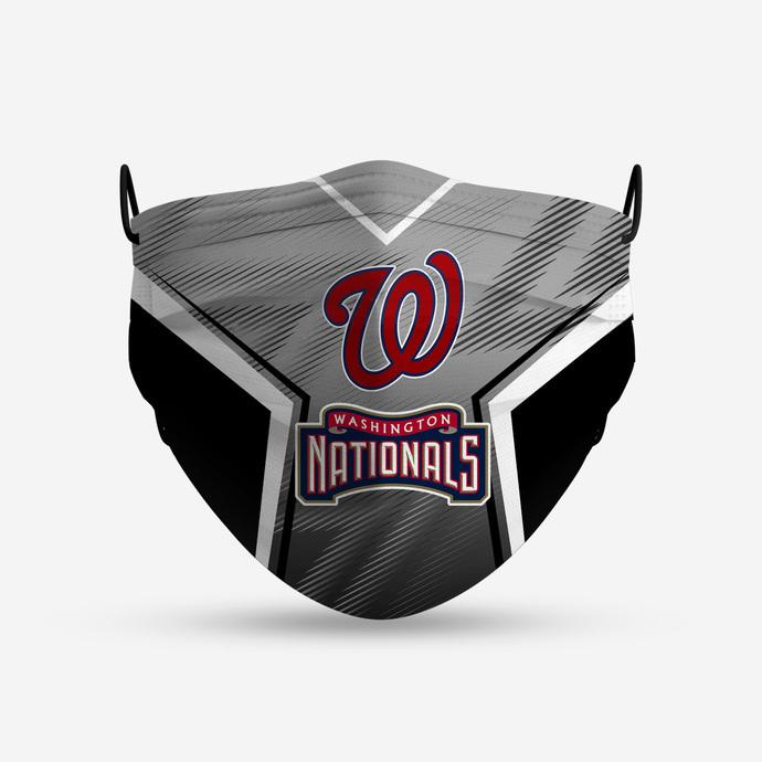 Washington Nationals Style 4 Face Mask, Adult Face Mask, Sport Face Mask,