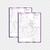 Personalized Monat Bundle, Watercolor Custom Monat Cards, Monat Marketing Set,