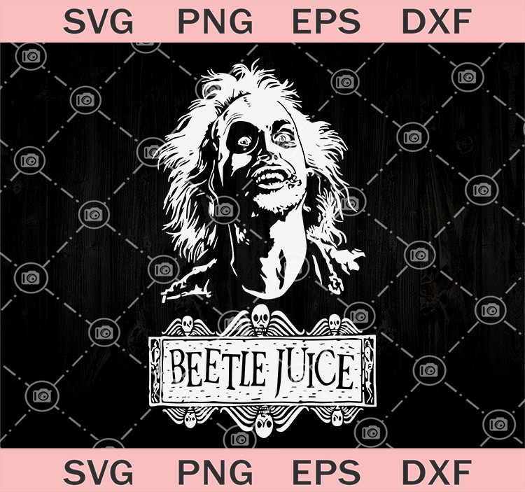 Beetlejuice American Horror Film Svg Horror By Svgtrendyshop On Zibbet