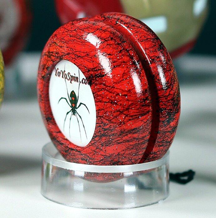 Spider Yo-Yo ... Red/Black
