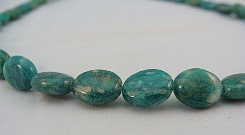 Russian Amazonite 10x8mm Oval Strand