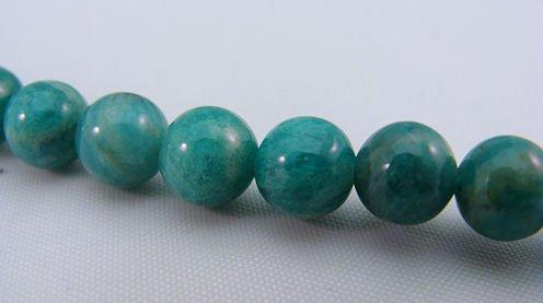 Russian Amazonite 6mm Round Beads Strand