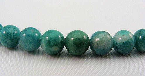 Russian Amazonite 6mm Round Beads Strand