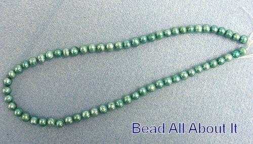 Freshwater Pearls 7mm Teal Strand
