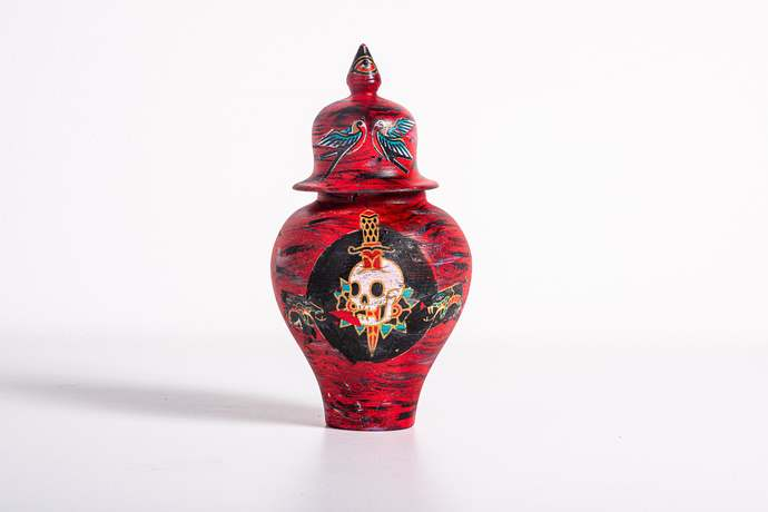 Shaka Mini Vase