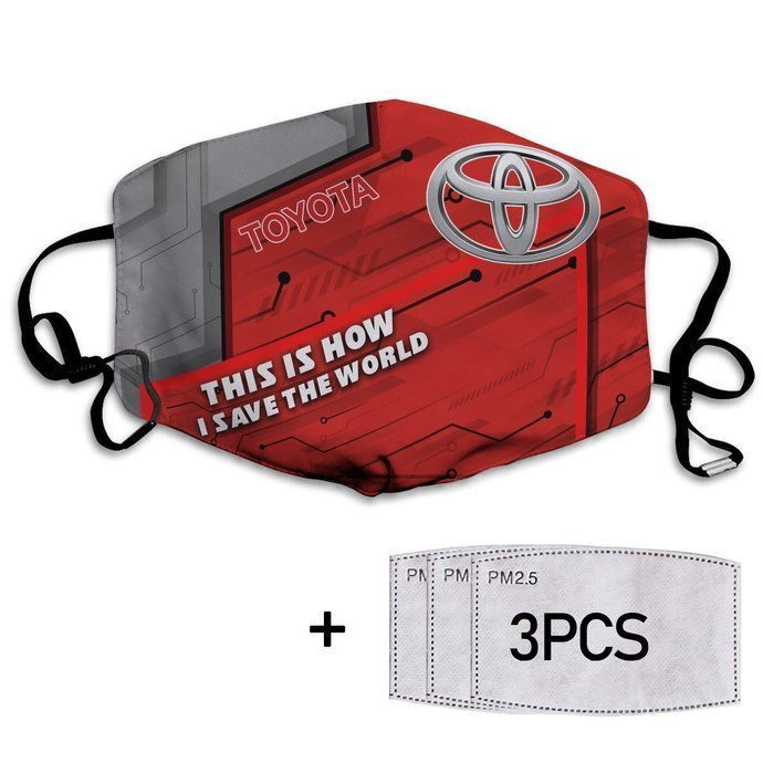This Is How I Save The World Toyota Face Masks