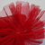 #6 Red Tulle Rosettes