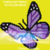 Purple Butterfly Pillow-SC-80x70