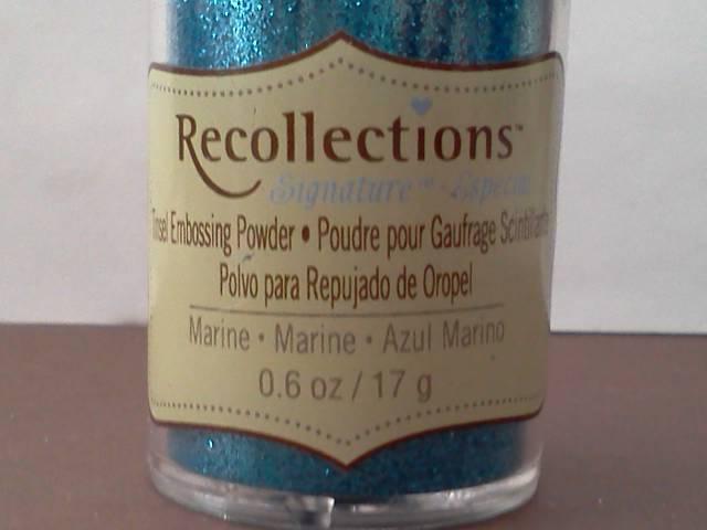 Marine Embossing Powder*