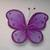 Large Purple Butterfly*