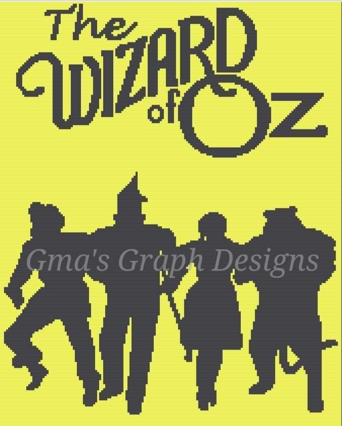 Wizard of Oz throw 170 x 210 sc