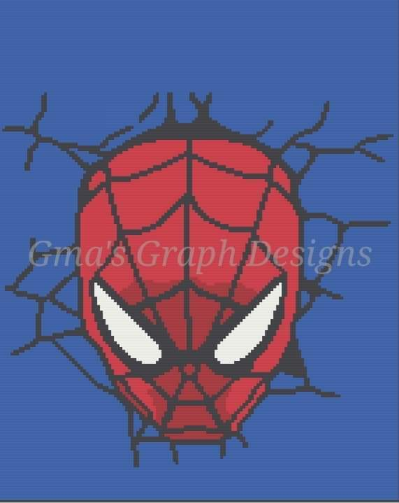 Spiderman throw 144 x 180 sc