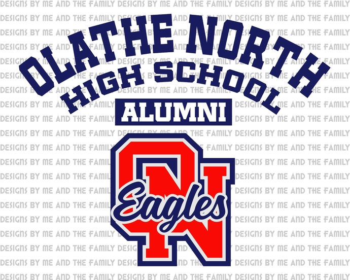 Olathe North high school alumni Eagles, PNG