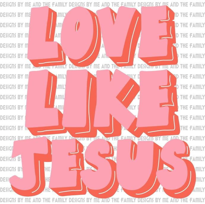 Love Like Jesus, Way Maker, Peace, love, hope, he is the way, Through him all