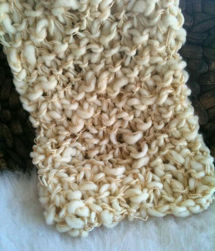 "Newborn Woolly ""Goddess Wrap"""