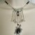 Onyx Turtle Necklace, handmade jewelry boho bohemian hippie ocean nature beach
