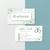 Vinatge Personalized Arbonne Business Cards, Vinatage Arbonne Business Card,