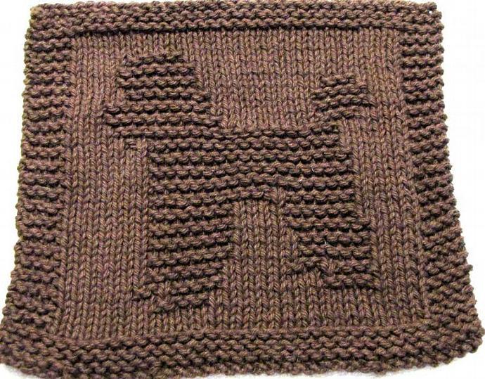 Knitting Cloth Pattern BIG POODLE - PDF