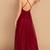 WDG0111,Simple Burgundy Tulle V Neck Long Homecoming Dress, Cocktail Dress