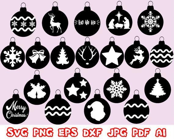 Sale Christmas Ornaments Svg Christmas Clip By Mimi S Store On