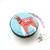 Tape Measure Alpacas on Blue Small Retractable Measuring Tape
